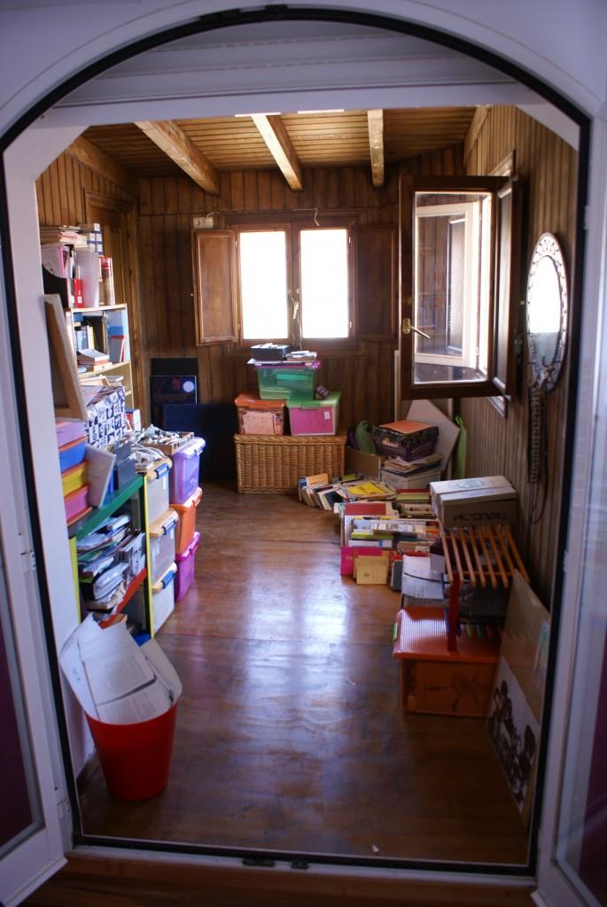 La cabaña (Una habitación propia)