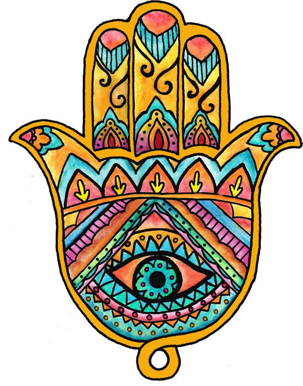 hamsa-colorful
