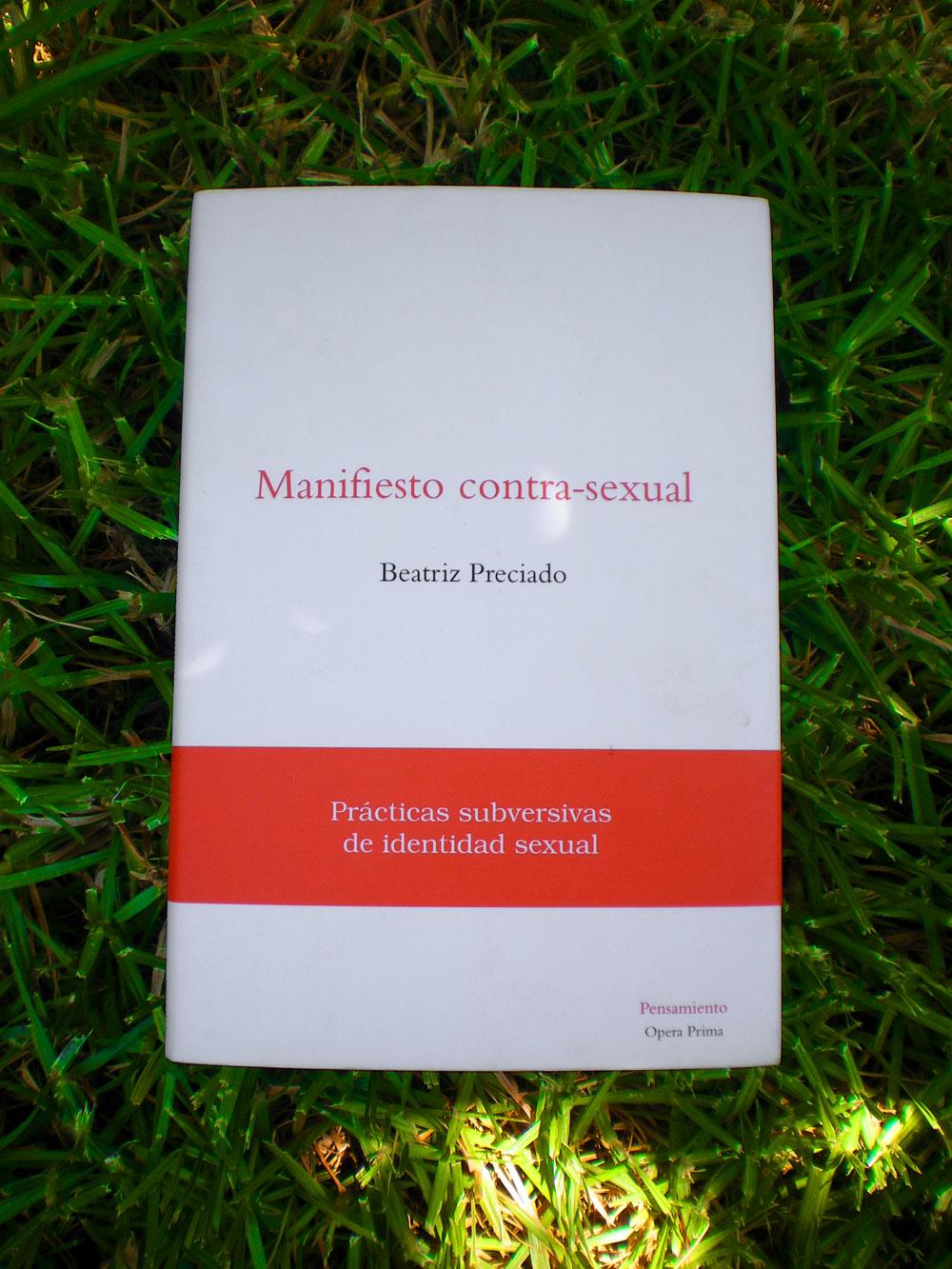 Manifiesto contrasexual comprar